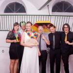 Liveband PROFILE an einer Hochzeit