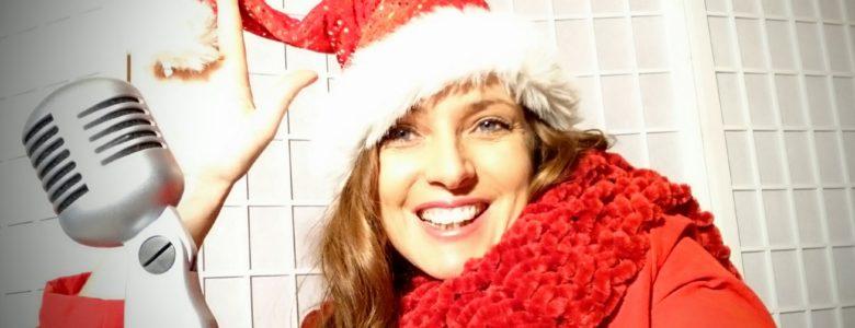 Sängerin Weihnachtsfeier